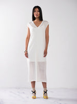 Stretch Linen T-Shirt Dress