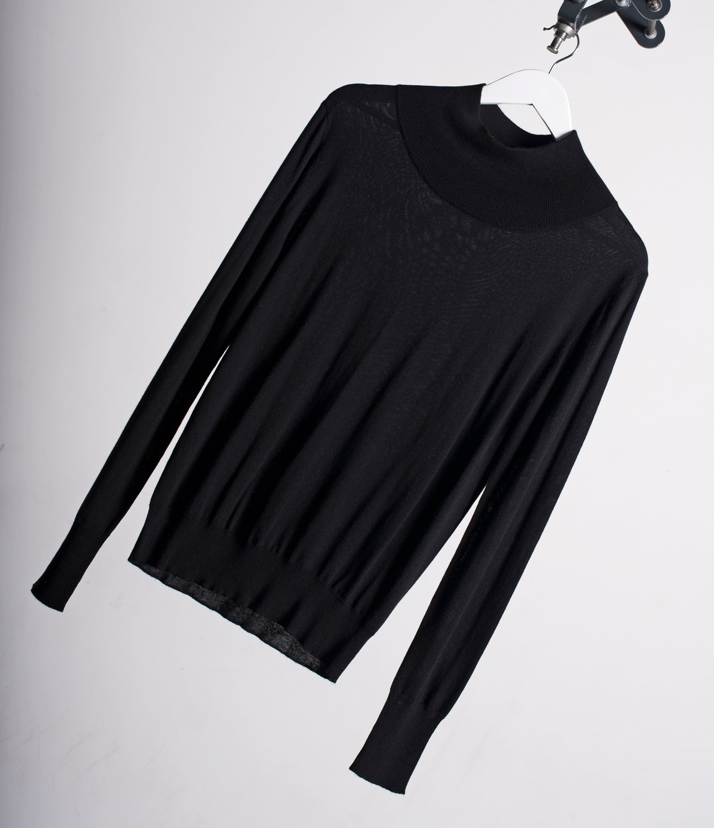 Silk Cashmere Turtleneck