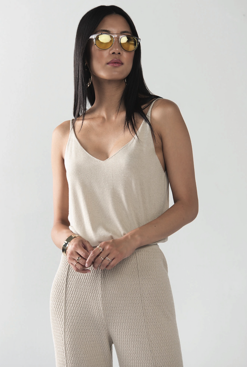 Silk Cashmere Tank Top