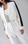 Stretch Cropped Blazer