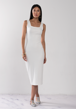Bamboo Square Neck Dress