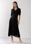 Silk Cashmere Button up Dress