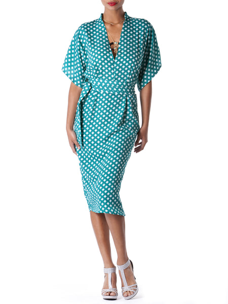 """Nikky"" Dotted Tunic Dress"
