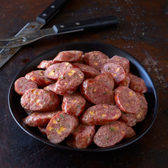 Jalapeño Cheddar Sausage & Red Pig Chili, Joe's Kansas City Bar-B-Que, Joe's KC, BBQ, Barbecue, Kansas City, Ship BBQ
