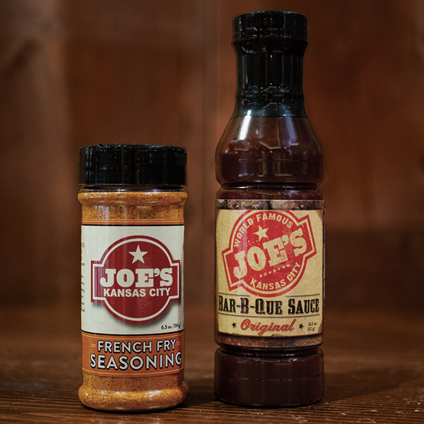 Joe's Sauce & Fry Seasoning, Joe's Kansas City Bar-B-Que, Joe's KC, BBQ, Barbecue, Kansas City, Ship BBQ