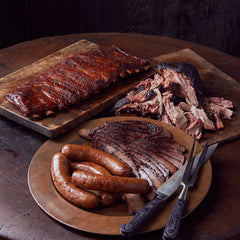 Ribs & 3 Meats, Joe's Kansas City Bar-B-Que, Joe's KC, BBQ, Barbecue, Kansas City, Ship BBQ