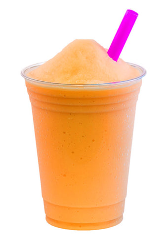 Frosty Fruit orange mango slushy