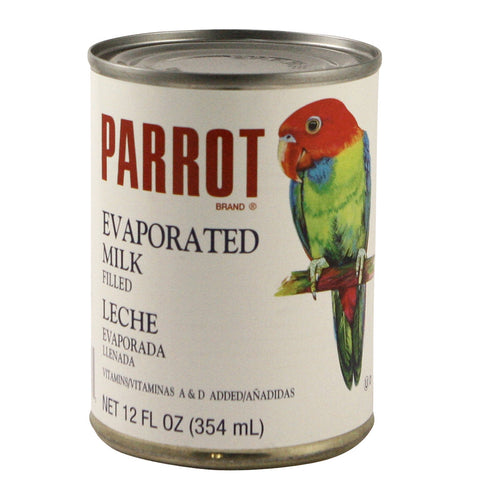 Parrot Evaporated Milk 48 x 12 oz
