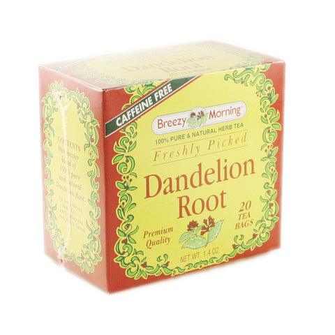 Breezy Morning - Dandelion Root 12 x 20 Tea Bags