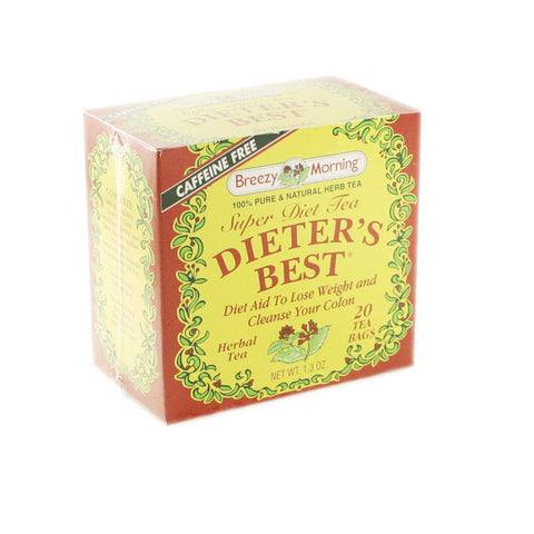 Breezy Morning - Dieter's Best 12 x 20 Tea Bags