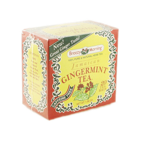 Breezy Morning - Gingermint 12 x 20 Tea Bags