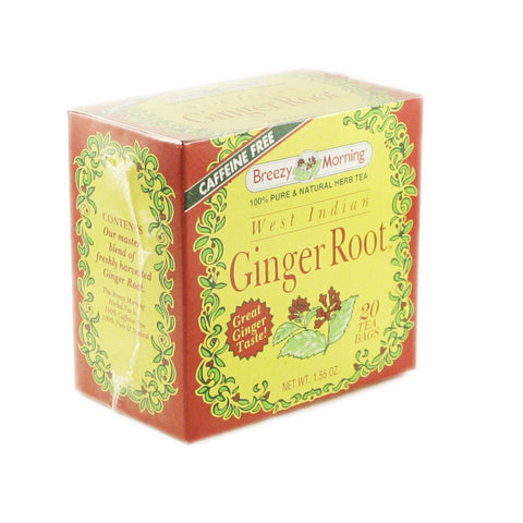 Breezy Morning - Ginger Root 12 x 20 Tea Bags