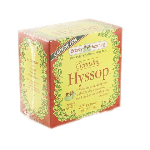 Breezy Morning - Hyssop 12 x 20 Tea Bags