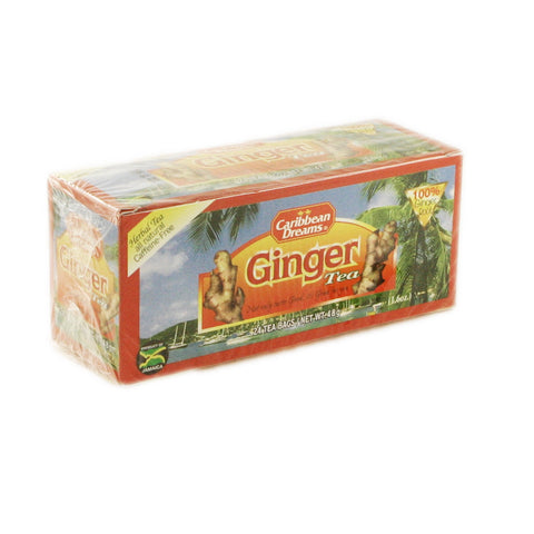 Caribbean Dream Tea - Ginger 24 x 24 Bags