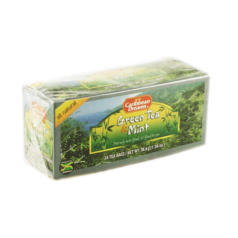 Caribbean Dream Tea - Green Tea Mint 24 x 24 Bags