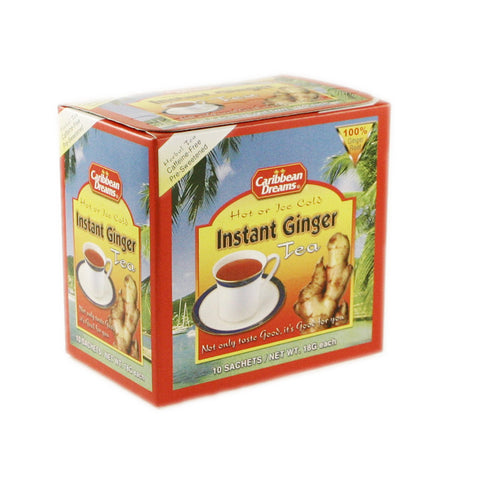 Caribbean Dream Instant Ginger Tea - Unsweeten 24 x 10 Bags