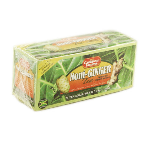 Caribbean Dream Tea - Noni Ginger 12 x 20 Bags