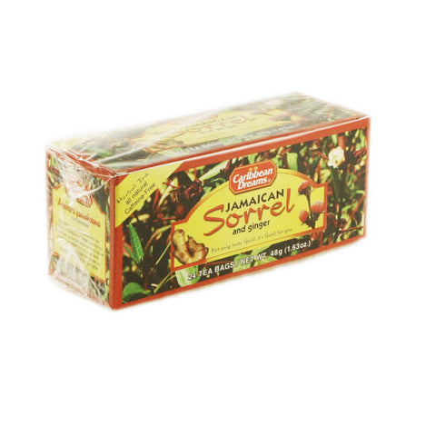 Caribbean Dream Tea - Sorrel Ginger 24 x 24 pk