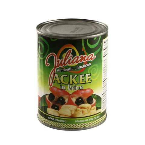 Juliana - Ackee in Brine 24 x 19oz