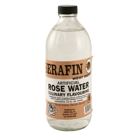 Serafin Essence - Rose Water   24 x 16 oz