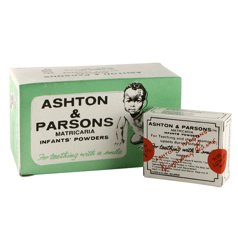 Ashton & Parsons Teething Powder 12 x 20 Sachets