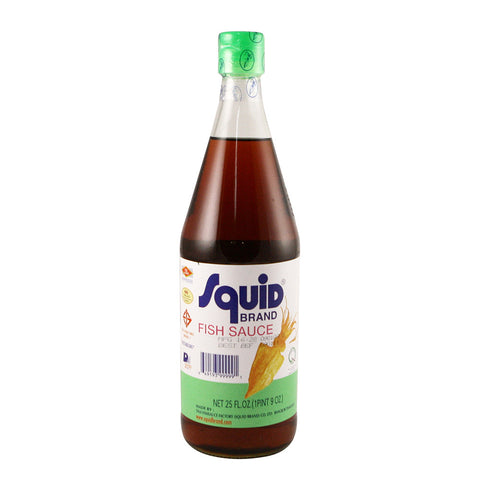 Squid Brand Fish Sauce 12 x 25oz