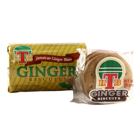 HTB Ginger Biscuits  Lg  36 x 150g