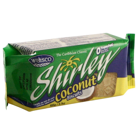 Shirley Biscuits - Coconut 24 x 3.7 oz
