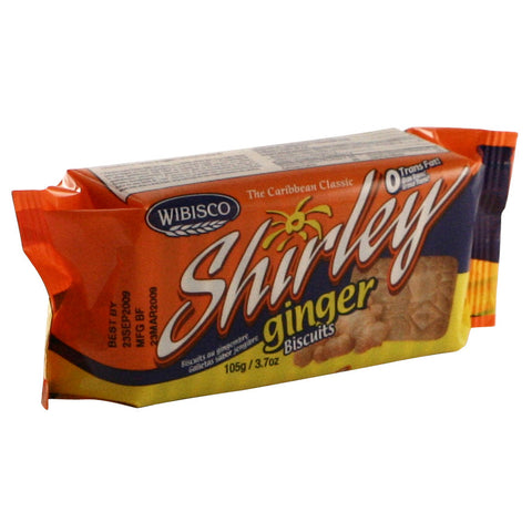 Shirley Biscuits - Ginger 24 x 3.7 oz
