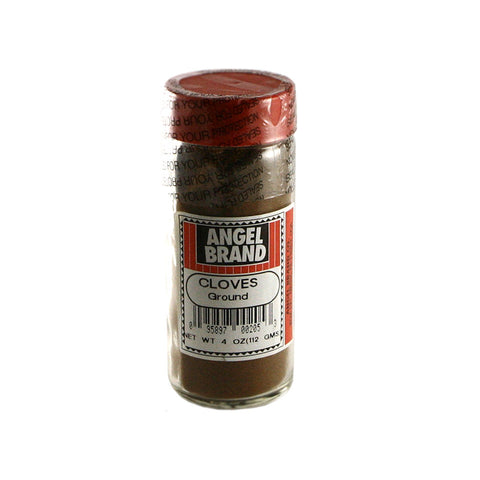 Angel Brand Cloves Ground 24 x 3.5 oz Bottle