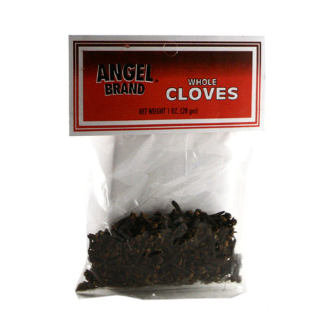 Angel Brand Cloves Whole 48 x 1 oz Pkg