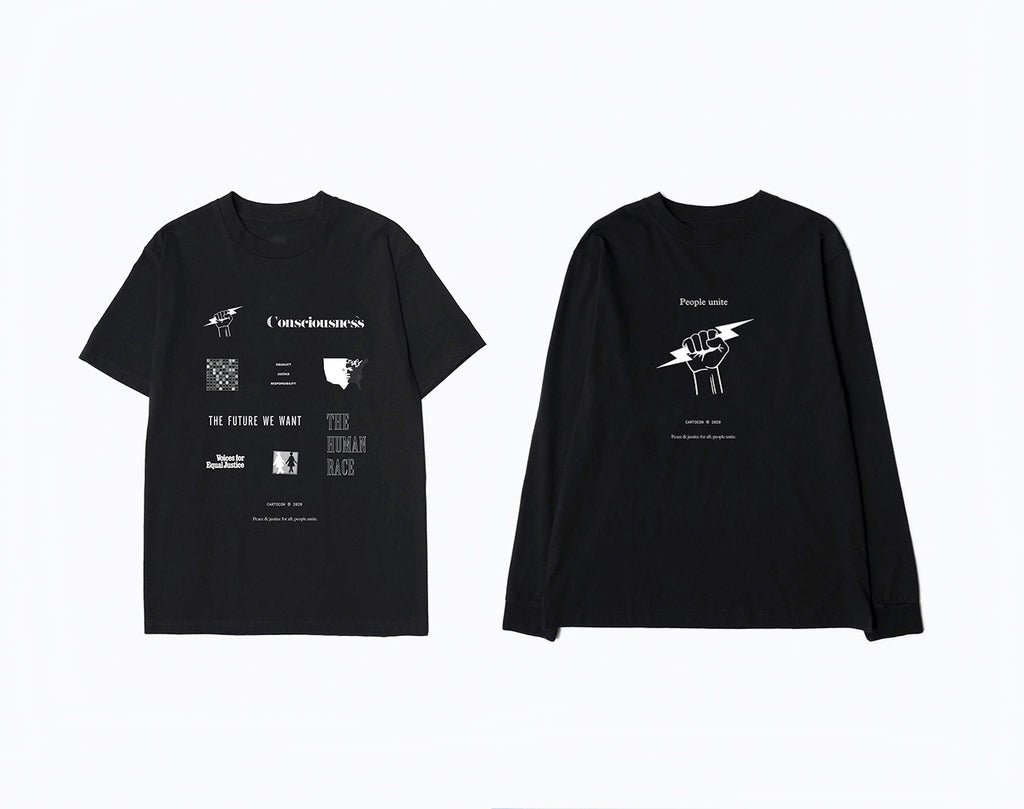 PEACE AND JUSTICE BLM CHARITY TEES