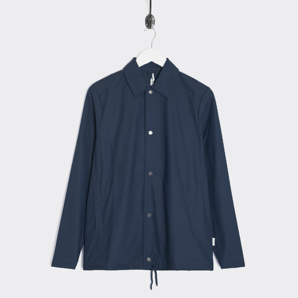 Rains Coach Jacket - Blue  - CARTOCON