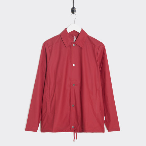 Rains Coach Jacket - Scarlet  - CARTOCON