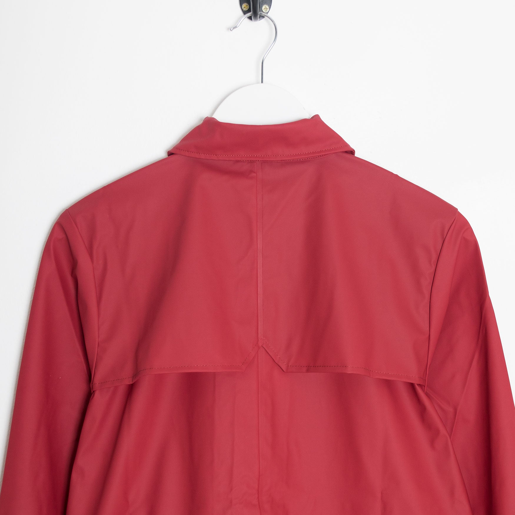 Rains Coach Jacket - Scarlet