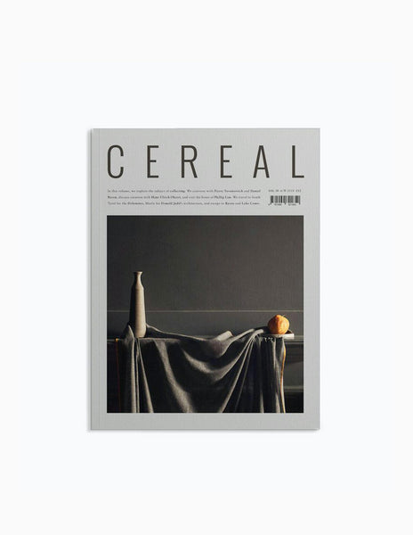 Cereal Magazine Vol.16 - A/W2018 Magazine - CARTOCON
