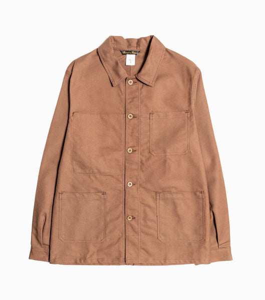 Le Laboureur Cotton Drill Jacket - Brown Jacket - CARTOCON