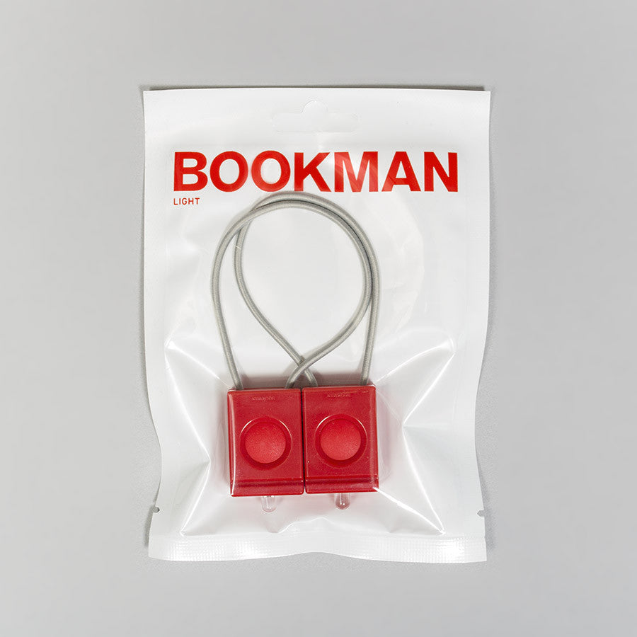 Bookman Bike Light – Red - 2