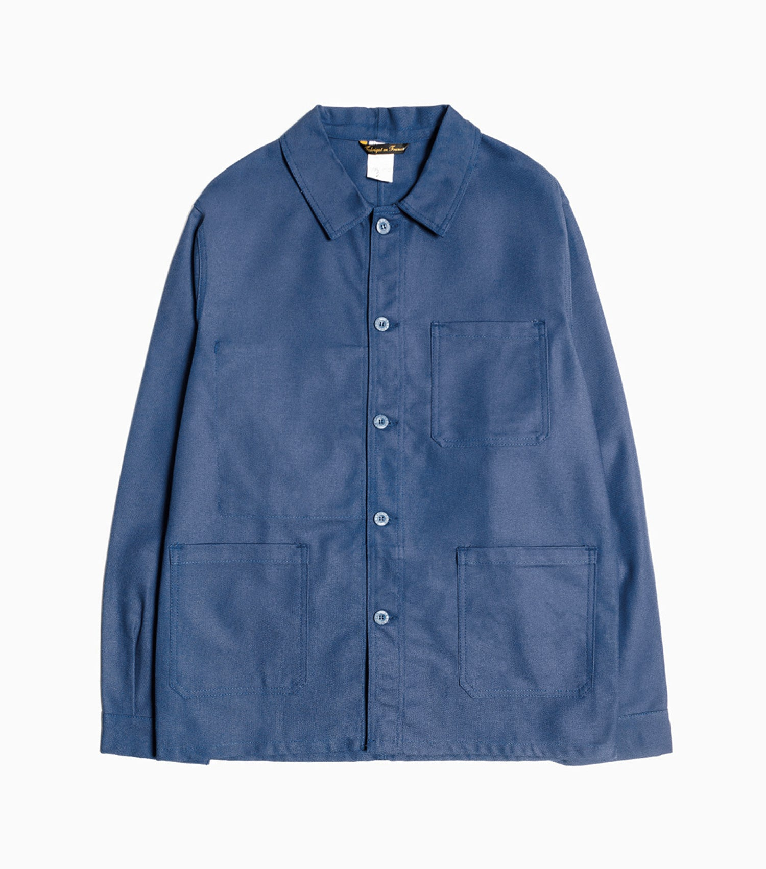 Le Laboureur Cotton Drill Jacket - Navy