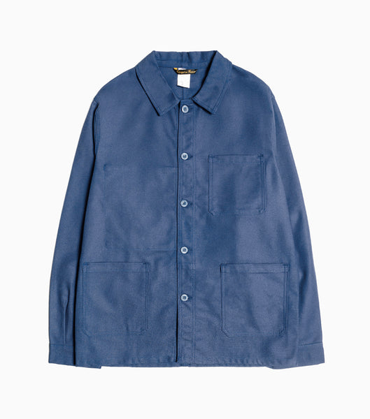 Le Laboureur Cotton Drill Jacket - Navy Jacket - CARTOCON