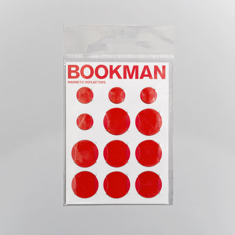 Bookman Magnetic Bike Reflectors – Red Bicycle Accessories - CARTOCON