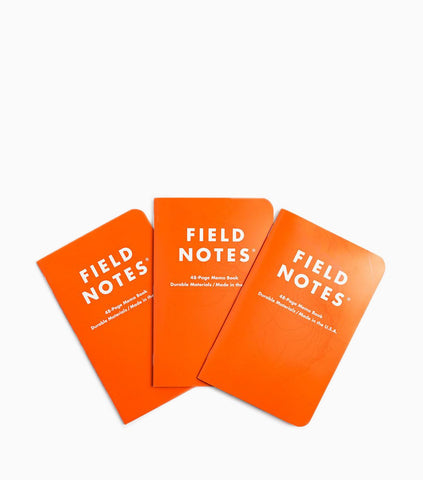 Field Notes 3-pack Notebooks - Expedition Edition Stationary - CARTOCON