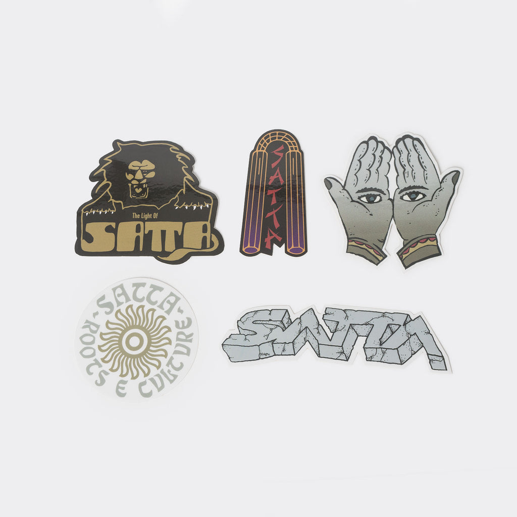 Satta Sticker Pack - Assorted set of 5