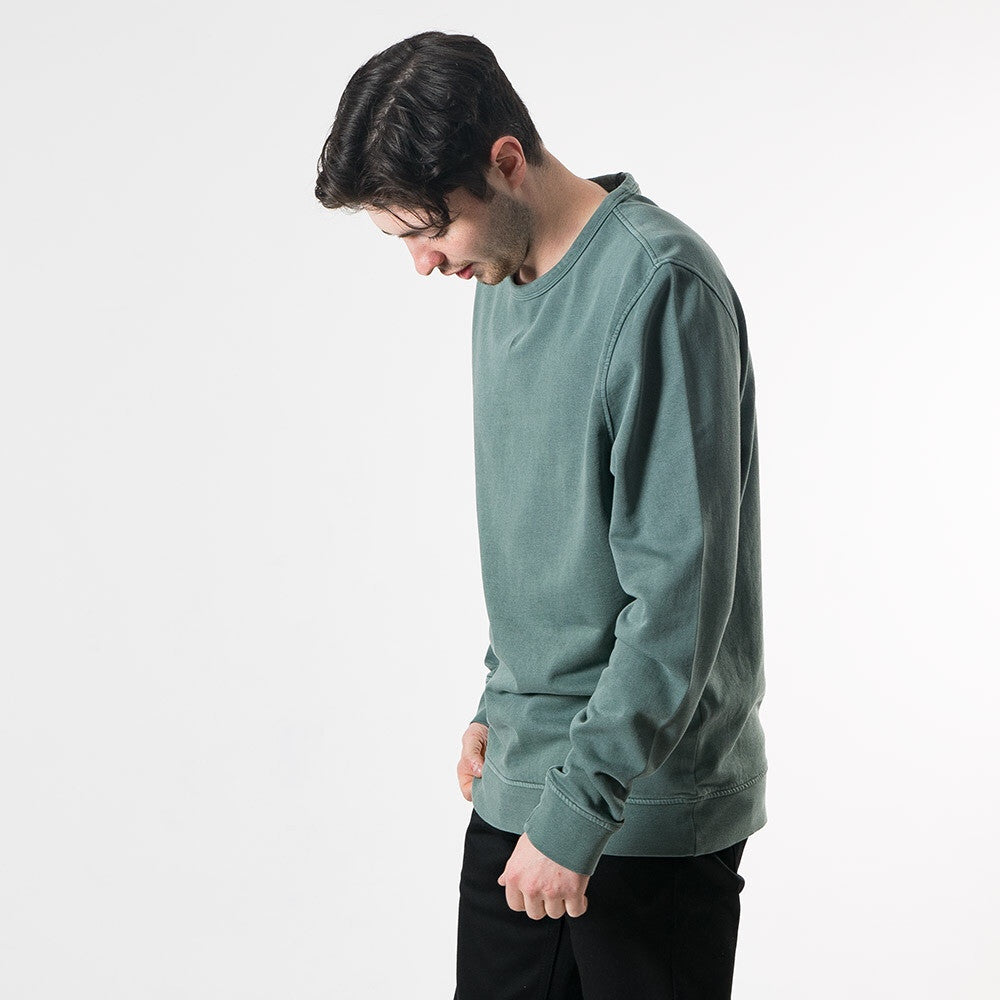YMC Almost Grown Sweatshirt - Green - 2