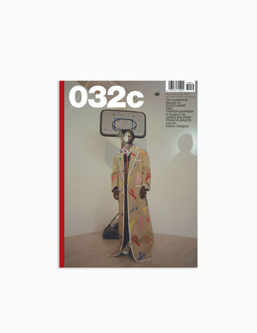 "032C Magazine Issue: #35 Winter 2018/19 ""A Museum for James Baldwin"" Magazine - CARTOCON"