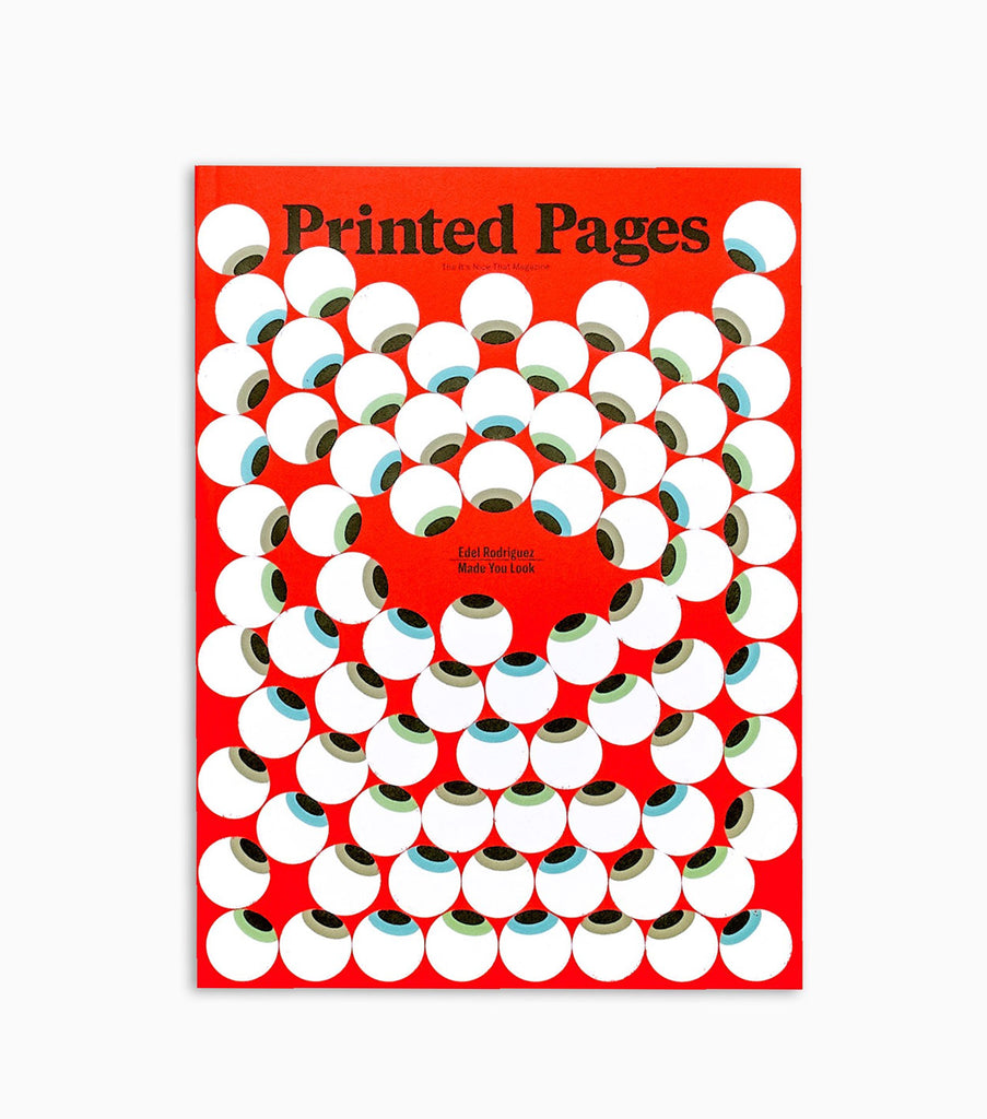 Printed Pages Magazine Issue 15 Spring/Summer 2018