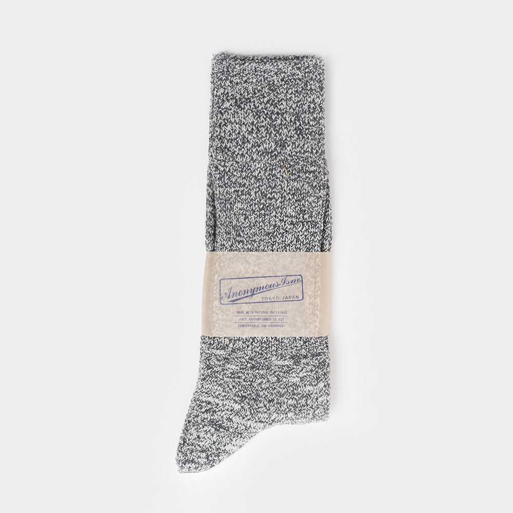Anonymous Ism Mock Amerib Crew Sock - Grey - 2