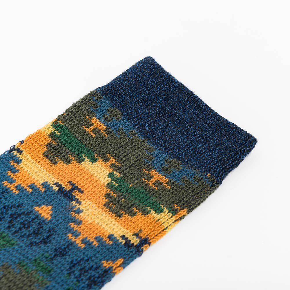 Anonymous Ism Wigwam JQ Crew Sock - Navy  - CARTOCON