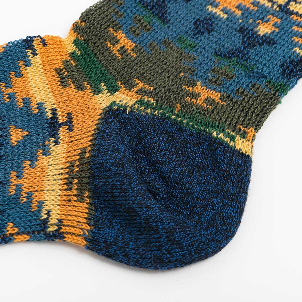 Anonymous Ism Wigwam JQ Crew Sock - Navy - 4