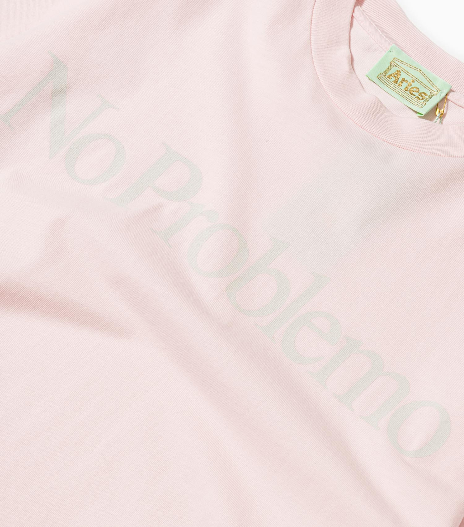 Aries No Problemo T-Shirt - Pink T-Shirt - CARTOCON